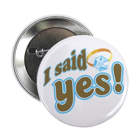 I said Yes! Button