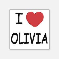 "OLIVIA Square Sticker 3"" x 3"""