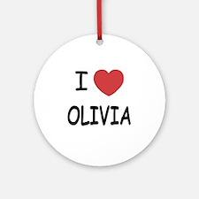 OLIVIA Round Ornament