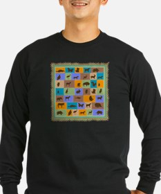 animal patchwork T