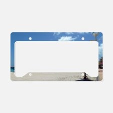 WiFi in Paradise License Plate Holder