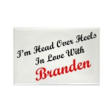 In Love with Branden Rectangle Magnet