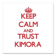 "Keep Calm and TRUST Kimora Square Car Magnet 3"" x"