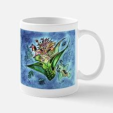 Coral Mermaid Fantasy Art Mug