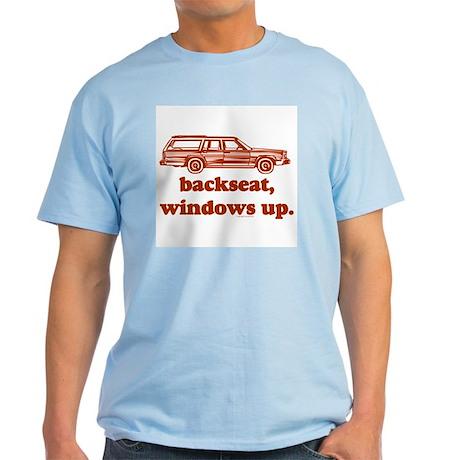 Backseat Men's Light T-Shirt