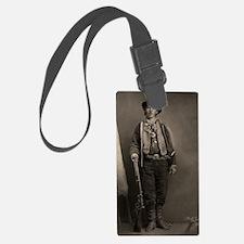 14X10 Billy the Kid BW Print Luggage Tag