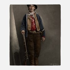 16X20 Billy the Kid Color Print Throw Blanket