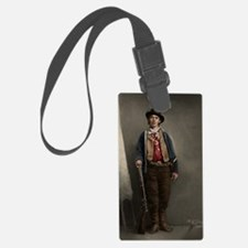 23X35 Billy the Kid Color Print Luggage Tag