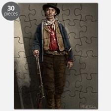 23X35 Billy the Kid Color Print Puzzle