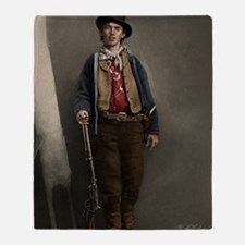 23X35 Billy the Kid Color Print Throw Blanket