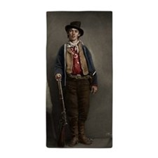 23X35 Billy the Kid Color Print Beach Towel