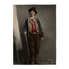 23X35 Billy the Kid Color Print 5'x7'Area Rug