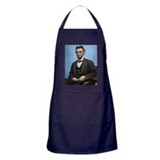 9X12 Abe Lincoln Color Print Apron (dark)