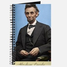 14X10 Abe Lincoln Color Print Journal