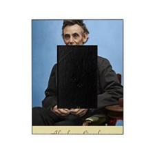 23X35 Abe Lincoln Color Print Picture Frame