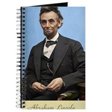 23X35 Abe Lincoln Color Print Journal