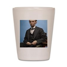 23X35 Abe Lincoln Color Print Shot Glass