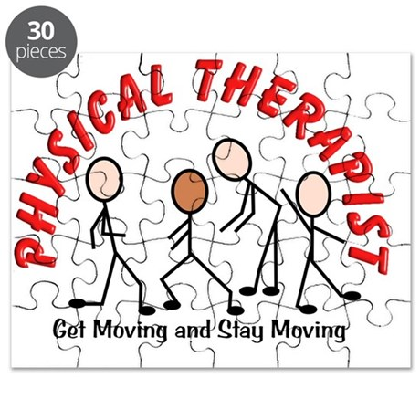 physical therapist 2 get moving red Puzzle