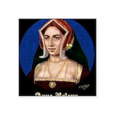 "14X10 Anne Boleyn Print Square Sticker 3"" x 3"""