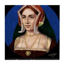 14X10 Anne Boleyn Print Tile Coaster