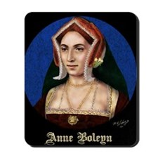 14X10 Anne Boleyn Print Mousepad