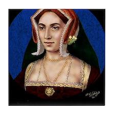 9X12 Anne Boleyn Print Tile Coaster