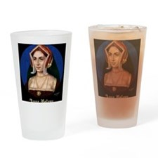 14X10 Anne Boleyn Print Drinking Glass
