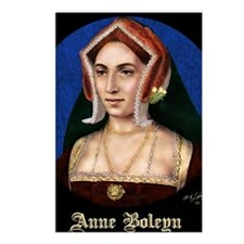 14X10 Anne Boleyn Print Postcards (Package of 8)