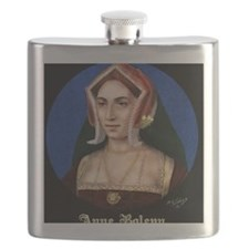 14X10 Anne Boleyn Print Flask