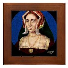 14X10 Anne Boleyn Print Framed Tile