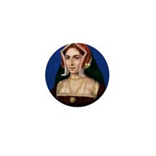 14X10 Anne Boleyn Print Mini Button