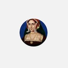 9X12 Anne Boleyn Print Mini Button