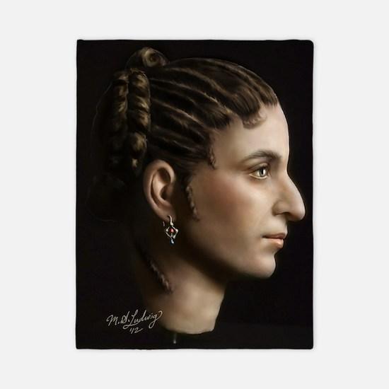 14X10 Cleopatra VII Print Twin Duvet