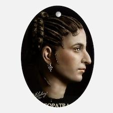 14X10 Cleopatra VII Print Oval Ornament