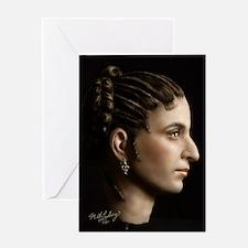23X35 Cleopatra VII Print Greeting Card