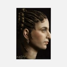 23X35 Cleopatra VII Print Rectangle Magnet