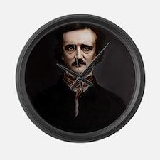 16X20 Edgar Allan Poe Print Large Wall Clock
