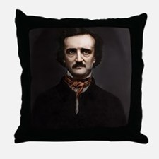 16X20 Edgar Allan Poe Print Throw Pillow