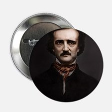 "16X20 Edgar Allan Poe Print 2.25"" Button"