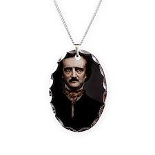 14X10 Edgar Allan Poe Print Necklace