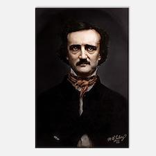 9X12 Edgar Allan Poe Prin Postcards (Package of 8)