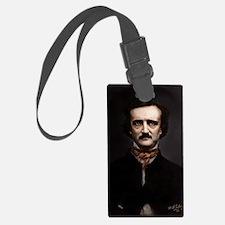 9X12 Edgar Allan Poe Print Luggage Tag