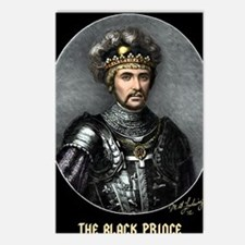 14X10 The Black Prince Pr Postcards (Package of 8)