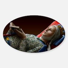 9X12 Eleanor of Aquitaine Print Decal
