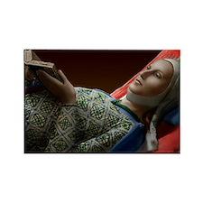 14X10 Eleanor of Aquitaine Print Rectangle Magnet