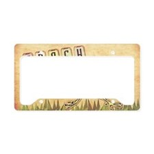 bag-5 License Plate Holder