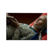 23X35 Eleanor of Aquitaine Print Rectangle Magnet