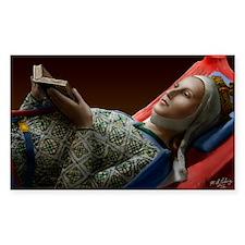 23X35 Eleanor of Aquitaine Pri Decal