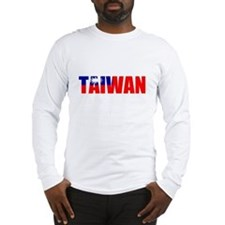 Taiwan Long Sleeve T-Shirt