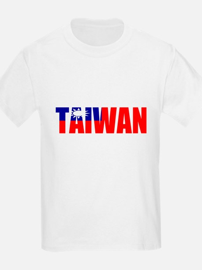 Taiwan Kids T-Shirt